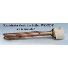 Rezistenta electrica 3kw cu termostat   -  Kit electric boiler Woody