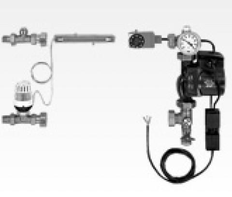 Sistem de amestec Purmo TempCO cu pompa circulatie 15-6