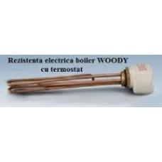 Rezistenta electrica 6 kw cu termostat - Kit electric boiler Woody