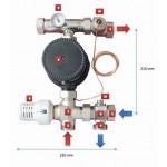 Sistem de amestec Purmo TempCO fix ( cu Pompa Lowara)