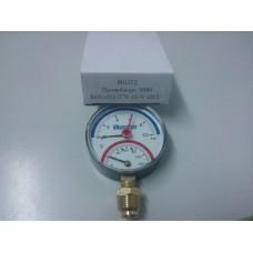 Termomanometru 6 barr 120°C - radial