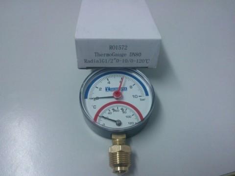 Termomanometru 10 barr 120°C  - radial